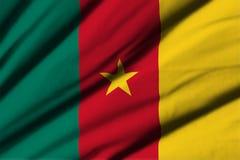 cameroon flagga Royaltyfria Bilder