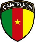 Cameroon-Markierungsfahne Lizenzfreie Stockbilder