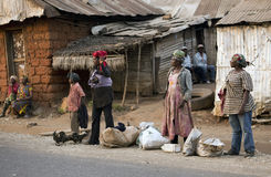 Cameroon people Stock Images