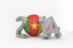 Cameroon world cup 2014 Stock Photos