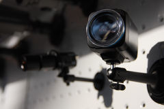 Cames da segurança do CCTV fotos de stock royalty free