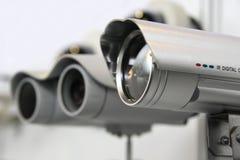 Cames de degré de sécurité de télévision en circuit fermé. Images libres de droits