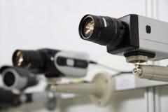 Cames de degré de sécurité de télévision en circuit fermé. Images stock