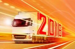 Camión 2016 Imagen de archivo libre de regalías