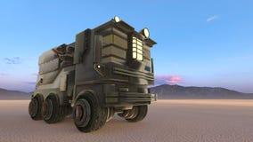 Camión stock de ilustración