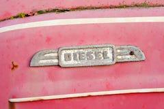 camión abandonado en desechar Imagen de archivo