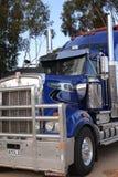 Camión australiano del tren de camino Fotografía de archivo