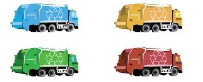 Camión de basura Imagen de archivo libre de regalías