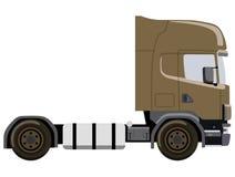 Camión de Brown Imagen de archivo