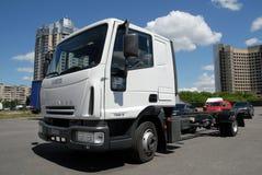 Camión de Iveco Imágenes de archivo libres de regalías
