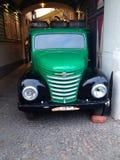 Camión de la cerveza Imagen de archivo libre de regalías