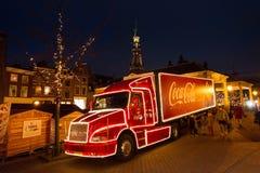 Camión de la Coca-Cola Fotos de archivo libres de regalías