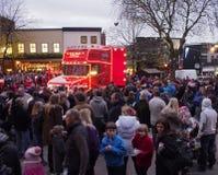 Camión de la Coca-Cola en Preston Imagen de archivo