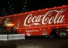 Camión de la Coca-Cola en Preston Foto de archivo