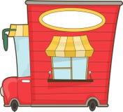 Camión de la comida Fotografía de archivo