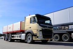 Camión de la construcción de Volvo FM11 Hookpro fotografía de archivo
