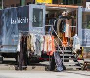 Camión de la moda Fotografía de archivo libre de regalías