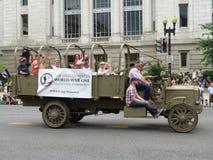 Camión de la Primera Guerra Mundial imagen de archivo libre de regalías