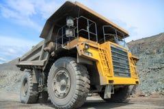 Camión de mina Foto de archivo libre de regalías