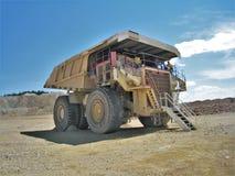 Camión de mina de oro del cc y de V imagen de archivo libre de regalías