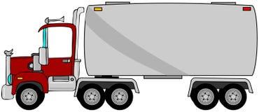 Camión de petrolero stock de ilustración