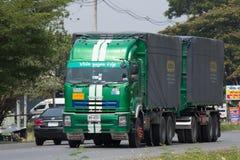 Camión de Poon Udom Transport Company Cargo Imágenes de archivo libres de regalías