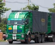 Camión de Poon Udom Transport Company Cargo Fotografía de archivo libre de regalías
