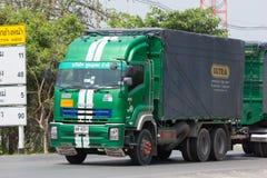 Camión de Poon Udom Transport Company Cargo Fotos de archivo libres de regalías