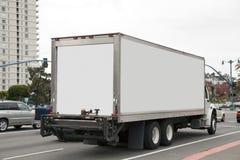 Camión de reparto foto de archivo