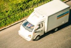 Camión de reparto imágenes de archivo libres de regalías