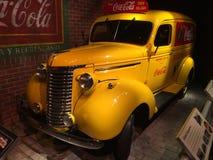 Camión de reparto de Coca-Cola del vintage imagen de archivo