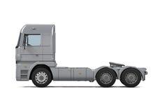 Camión de reparto del cargo imagenes de archivo