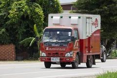 Camión de reparto de EMPRESA PÚBLICA de PRESIDENTE BAKERY LIMITADA imagen de archivo