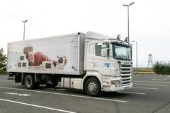 Camión de Scania fotografía de archivo libre de regalías