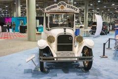 Camión de Servide de la patrulla de la carretera Fotografía de archivo