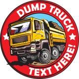 Camión de volquete stock de ilustración