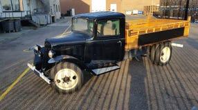 Camión de Wintage Fotografía de archivo libre de regalías