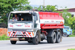 Camión del aceite del transporte de A-TWO Fotografía de archivo libre de regalías
