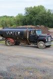 Camión del agua Imagen de archivo libre de regalías