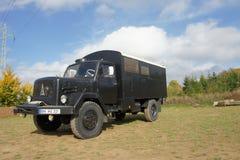 Camión del campista - Magirus Deutz Fotos de archivo libres de regalías