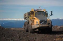 Camión del carbón fotografía de archivo