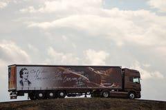 Camión del cargo Fotos de archivo libres de regalías