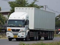Camión del cargo de JSN Transport Company Fotos de archivo