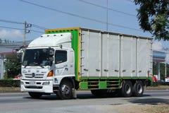 Camión del cargo de JSN Transport Company Foto de archivo libre de regalías