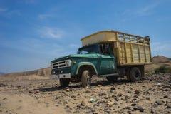 Camión del desierto Foto de archivo