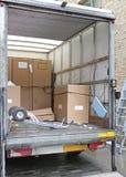Camión del envío Fotografía de archivo libre de regalías