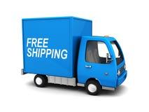Camión del envío gratis Fotografía de archivo libre de regalías