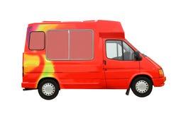 Camión del helado Imagen de archivo