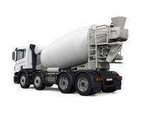 Camión del mezclador concreto foto de archivo