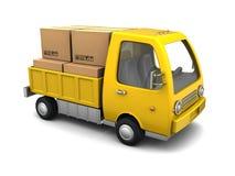 Camión del negocio Fotos de archivo libres de regalías
